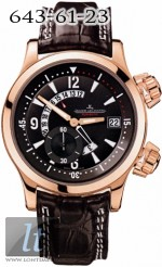 Jaeger LeCoultre  Master Compressor Dualmatic (18kt RG/ Black / Leather) Q1732440