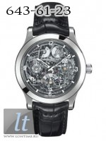Jaeger LeCoultre Master Eight Days Perpetual Skeleton 16164SQ