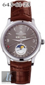 Jaeger LeCoultre  Master Moon (WG / Grey / Leather) Q143347A