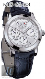 Jaeger LeCoultre  Master Eight Days Perpetual (Platinum) Q161642A