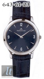 Jaeger LeCoultre  Master Ultra Thin (Platinum / Black / Leather) Q1456480