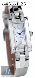 Jaeger LeCoultre Ideale (Steel / MOP / Diaminds / Leather) Q4608521