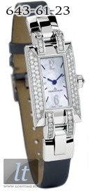 Jaeger LeCoultre Ideale (WG / MOP / Diamonds / Leather) Q4603594