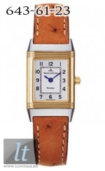 Jaeger LeCoultre  Reverso Lady (SS-YG / White / Leather) Q2605420