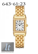 Jaeger LeCoultre  Reverso Lady Jewellery (YG-Diamonds / Silver / YG) Q2641140