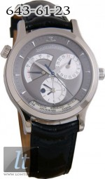 Jaeger LeCoultre:  Master Geographic (WG / Grey / Leather) Q1423470