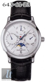 Jaeger LeCoultre Master Perpetual (Steel / Silver / Leather) Q149842A