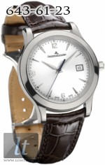 Jaeger LeCoultre:  Master Control Automatic (SS / Silver / Leather) Q1398420