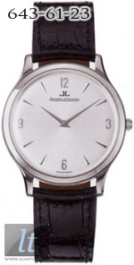 Jaeger LeCoultre  Master Ultra Thin (Steel / Silver / Leather) Q1458404