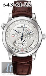 Jaeger LeCoultre  Master Geographic 2006 (SS / Silver / Leather) Q1508420