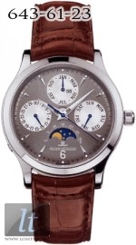 Jaeger LeCoultre  Master Perpetual (WG / Grey / Leather) Q149347A