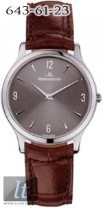 Jaeger LeCoultre  Master Ultra Thin (WG / Rhodium / Leather) Q1453470