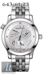 Jaeger LeCoultre  Master Geographic 2006 (SS / Silver / SS) Q1508120