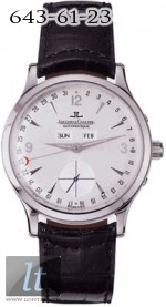 Jaeger LeCoultre  Master Date (Steel / Silver / Leather) Q147842A
