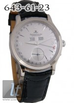 Jaeger LeCoultre  Master Date (WG / Rhodium / Leather) Q147344A