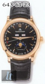 Jaeger LeCoultre  Master Moon (RG / Black / Leather) Q143247A
