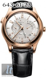 Zenith Grande Class RDM and Dual Time 18.0520.683/01.c492