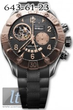 Zenith Defy Classic Open (RG-SS / Black / Rubber) 86.0526.4021/21.R642