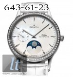 Zenith Class Lady Moonphase Diamonds/ White Dial Lady Moonphase-03