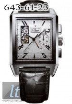 Zenith Grande Port Royal Open (SS / Silver / Leather) 03.0550.4021/01.C503