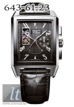 Zenith Grande Port Royal Open (SS / Black / Leather) 03.0550.4021/21.C503