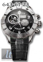 Zenith Defy Classic Open (SS / Black / Leather) 03.0526.4021/21.C648