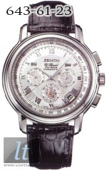 Zenith Chronomaster XT (Steel / Silver / Leather) 03.1250.4009/01.c495
