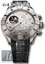 Zenith Defy Classic Open (SS / Silver / Leather) 03.0526.4021/01.C648
