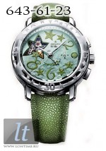 Zenith Star Sea Open (SS / Green MOP / Leather) 03.1233.4021/86.C638