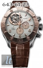 Zenith Defy Classic Tourbillon (RG-SS / Silver / Leather) 86.0526.4035/01.C649