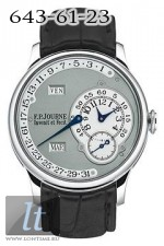 F.P.Journe Octa Calendrier (Pt / Leather)