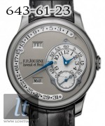 F.P.Journe Octa Calendrier (Pt / Leather) 40mm octa calendrier pt 40mm grey dial