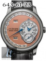F.P.Journe Octa Calendrier (Pt / Leather) 40mm octa calendrier pt 40mm pink dial
