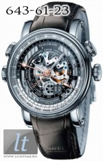Arnold & Son Hornet World Timer Skeleton Limited Edition 50 1H6AS.O01A.C79F