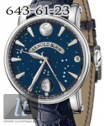Arnold & Son True Moon stainless steel blue dial 1TMAS.U03A.C42B