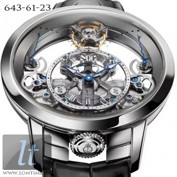 Arnold & Son Time Pyramid Steel 1TPAS.S01A.C124S
