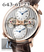 Arnold & Son Double Tourbillon Escapement Dual Time (DTE) 2014 1DTAR.L01A.C120A